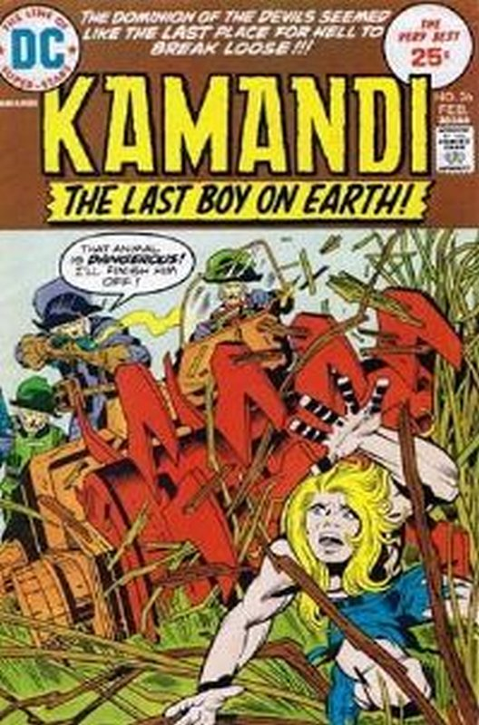 Cover of Kamandi (Vol 1) The Last Boy on Earth #26. One of 250,000 Vintage American Comics on sale from Krypton!