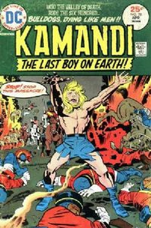 Cover of Kamandi (Vol 1) The Last Boy on Earth #28. One of 250,000 Vintage American Comics on sale from Krypton!