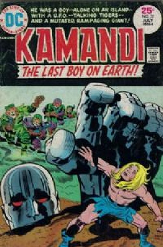 Cover of Kamandi (Vol 1) The Last Boy on Earth #31. One of 250,000 Vintage American Comics on sale from Krypton!