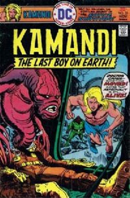 Cover of Kamandi (Vol 1) The Last Boy on Earth #35. One of 250,000 Vintage American Comics on sale from Krypton!