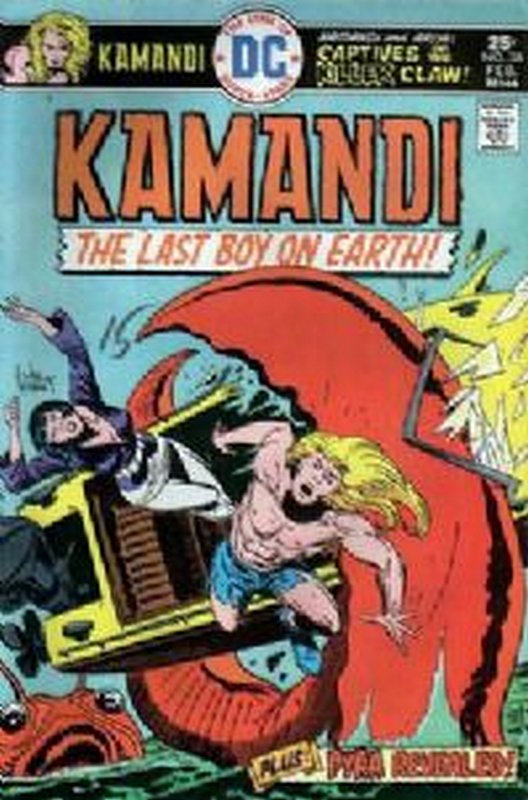 Cover of Kamandi (Vol 1) The Last Boy on Earth #38. One of 250,000 Vintage American Comics on sale from Krypton!