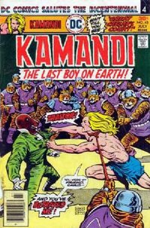 Cover of Kamandi (Vol 1) The Last Boy on Earth #43. One of 250,000 Vintage American Comics on sale from Krypton!