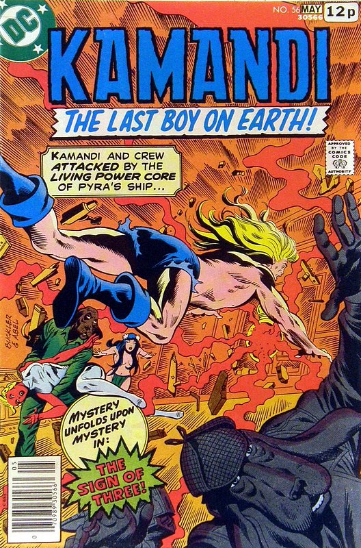 Cover of Kamandi (Vol 1) The Last Boy on Earth #56. One of 250,000 Vintage American Comics on sale from Krypton!