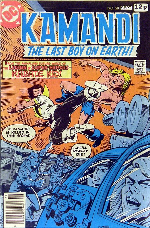 Cover of Kamandi (Vol 1) The Last Boy on Earth #58. One of 250,000 Vintage American Comics on sale from Krypton!