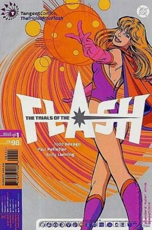 Cover of Tangent 98: Trials of the Flash (1998 One Shot) #1. One of 250,000 Vintage American Comics on sale from Krypton!