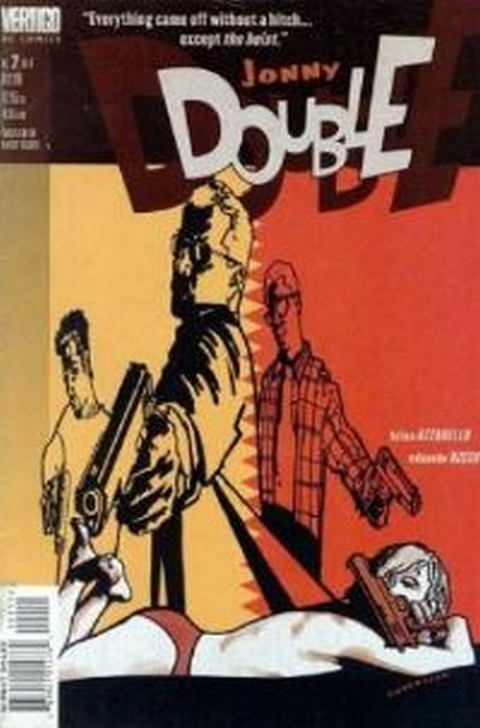 Cover of Jonny Double (1998 Ltd) #2. One of 250,000 Vintage American Comics on sale from Krypton!