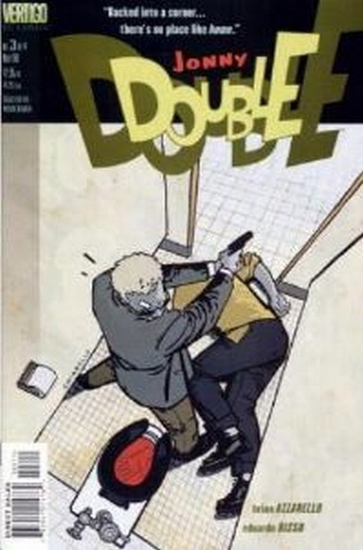 Cover of Jonny Double (1998 Ltd) #3. One of 250,000 Vintage American Comics on sale from Krypton!