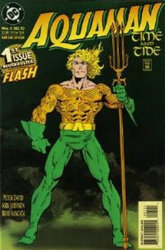 Cover of Aquaman Time & Tide (1993 Ltd) #1. One of 250,000 Vintage American Comics on sale from Krypton!