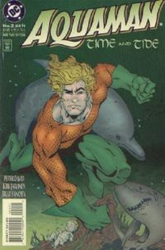 Cover of Aquaman Time & Tide (1993 Ltd) #2. One of 250,000 Vintage American Comics on sale from Krypton!