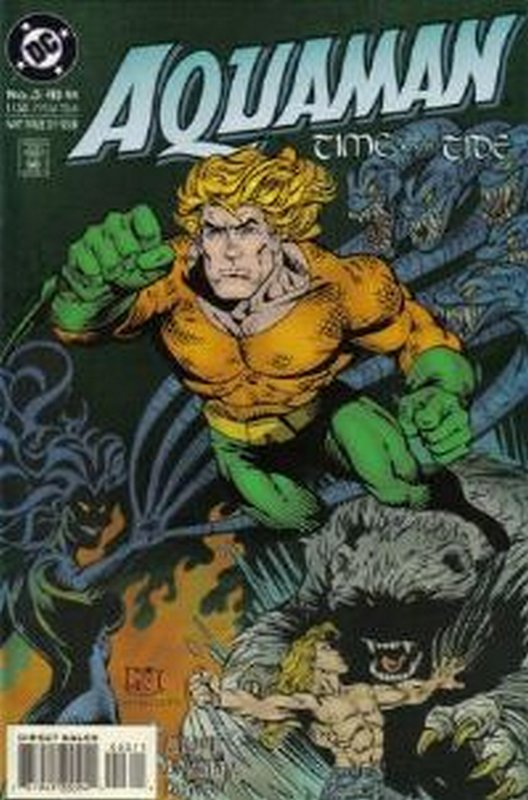 Cover of Aquaman Time & Tide (1993 Ltd) #3. One of 250,000 Vintage American Comics on sale from Krypton!