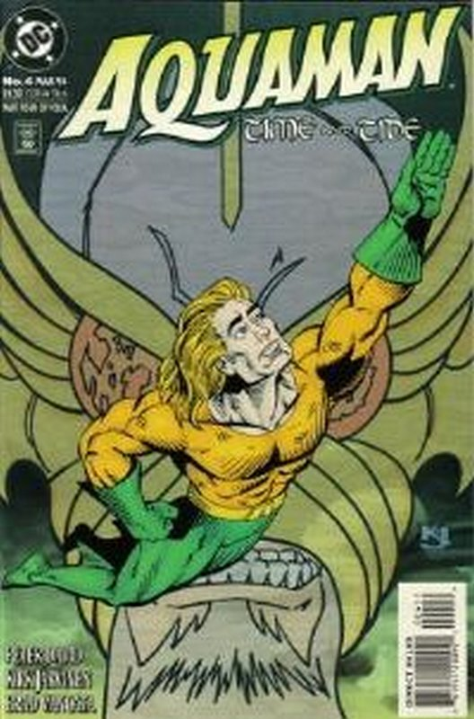 Cover of Aquaman Time & Tide (1993 Ltd) #4. One of 250,000 Vintage American Comics on sale from Krypton!