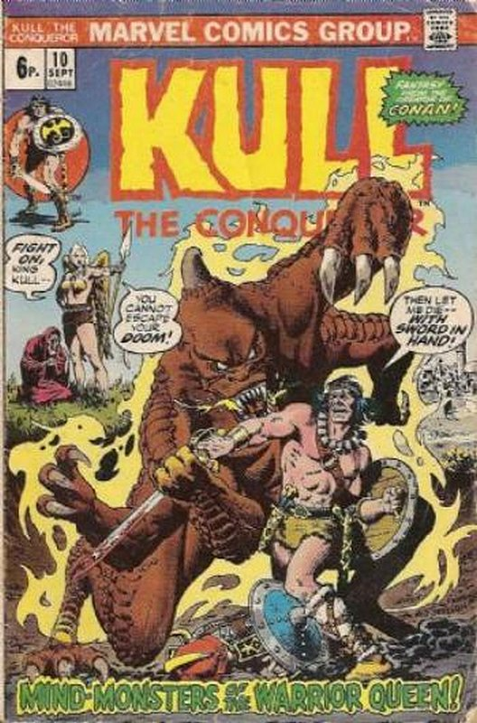 Cover of Kull the Conqueror (Vol 1) #10. One of 250,000 Vintage American Comics on sale from Krypton!