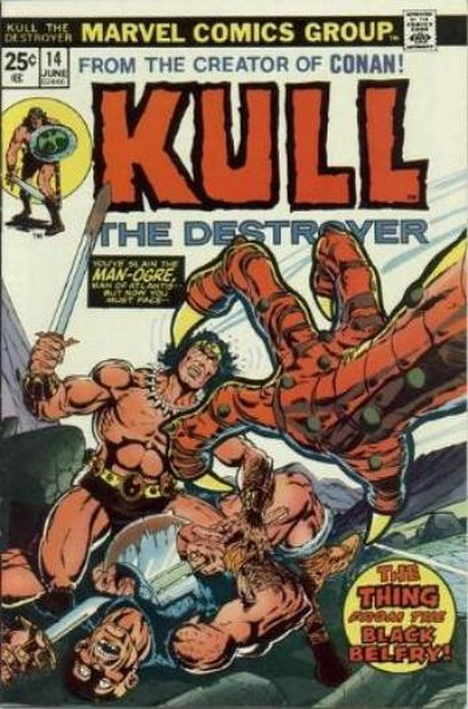 Cover of Kull the Conqueror (Vol 1) #14. One of 250,000 Vintage American Comics on sale from Krypton!