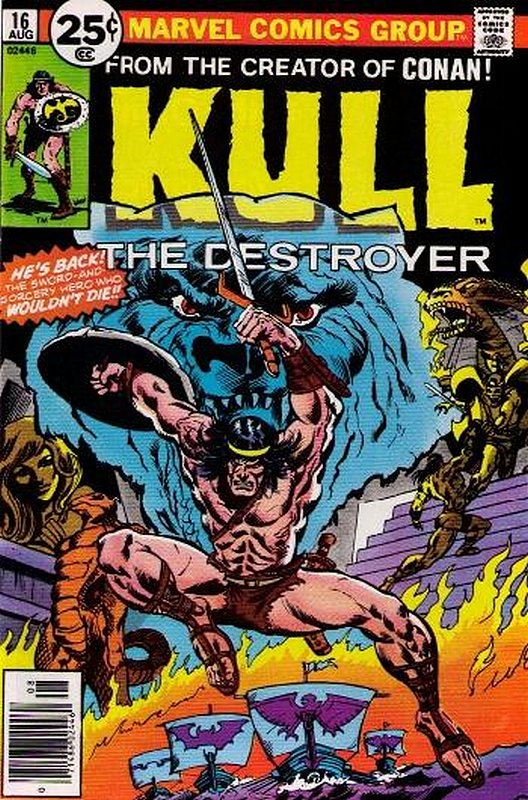 Cover of Kull the Conqueror (Vol 1) #16. One of 250,000 Vintage American Comics on sale from Krypton!