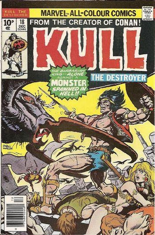 Cover of Kull the Conqueror (Vol 1) #18. One of 250,000 Vintage American Comics on sale from Krypton!