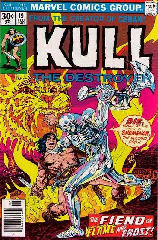 Cover of Kull the Conqueror (Vol 1) #19. One of 250,000 Vintage American Comics on sale from Krypton!