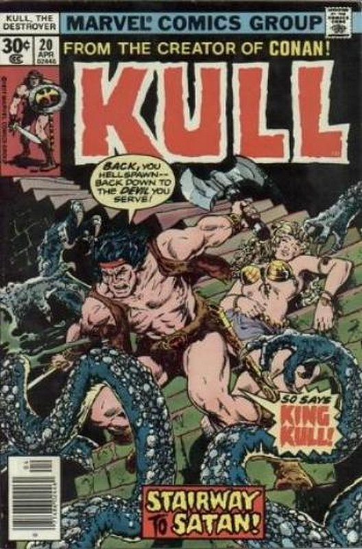 Cover of Kull the Conqueror (Vol 1) #20. One of 250,000 Vintage American Comics on sale from Krypton!
