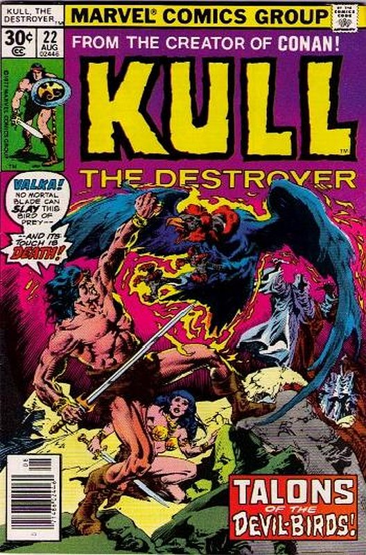 Cover of Kull the Conqueror (Vol 1) #22. One of 250,000 Vintage American Comics on sale from Krypton!