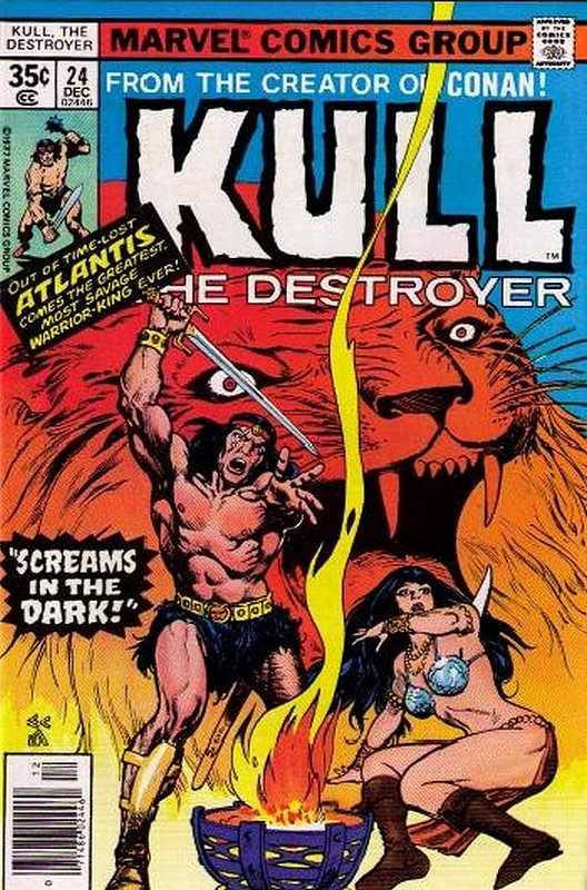 Cover of Kull the Conqueror (Vol 1) #24. One of 250,000 Vintage American Comics on sale from Krypton!