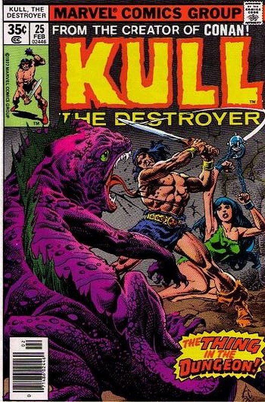 Cover of Kull the Conqueror (Vol 1) #25. One of 250,000 Vintage American Comics on sale from Krypton!