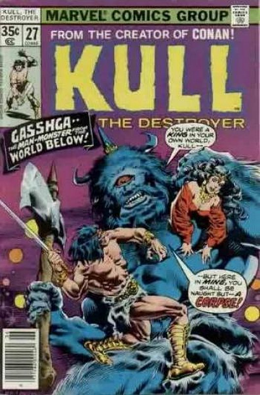 Cover of Kull the Conqueror (Vol 1) #27. One of 250,000 Vintage American Comics on sale from Krypton!