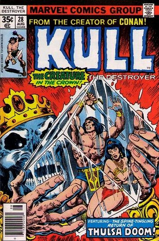 Cover of Kull the Conqueror (Vol 1) #28. One of 250,000 Vintage American Comics on sale from Krypton!