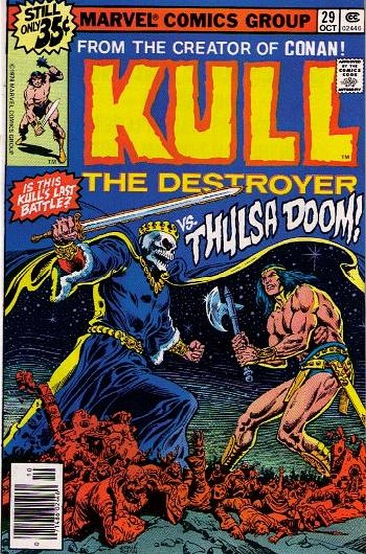 Cover of Kull the Conqueror (Vol 1) #29. One of 250,000 Vintage American Comics on sale from Krypton!