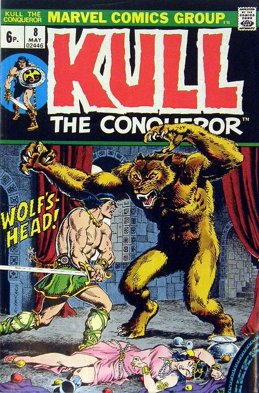 Cover of Kull the Conqueror (Vol 1) #8. One of 250,000 Vintage American Comics on sale from Krypton!