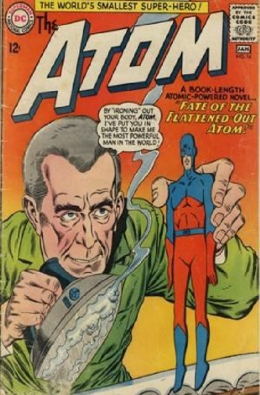 Cover of Atom (Vol 1) The #16. One of 250,000 Vintage American Comics on sale from Krypton!