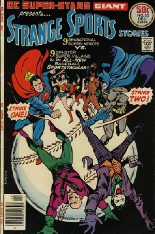Cover of DC Super-Stars (Vol 1) #10. One of 250,000 Vintage American Comics on sale from Krypton!