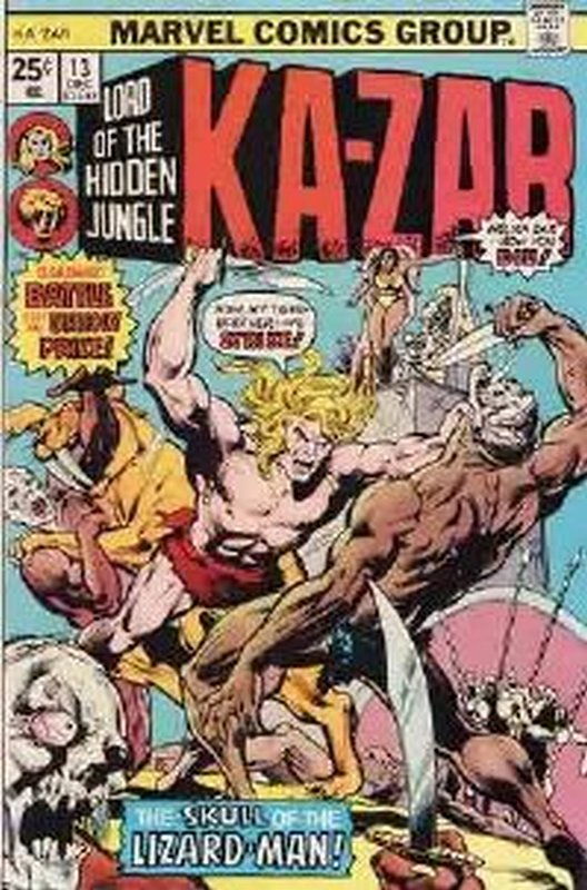 Cover of Ka-Zar (Vol 2), Lord of the Hidden Jungle #13. One of 250,000 Vintage American Comics on sale from Krypton!