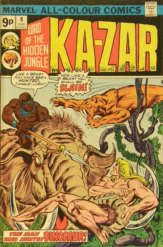 Cover of Ka-Zar (Vol 2), Lord of the Hidden Jungle #9. One of 250,000 Vintage American Comics on sale from Krypton!