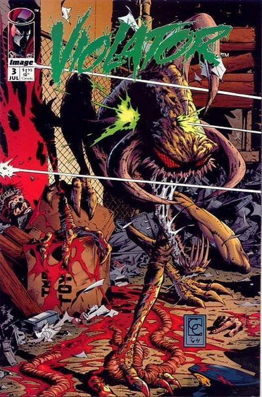 Cover of Violator (1994 Ltd) #3. One of 250,000 Vintage American Comics on sale from Krypton!