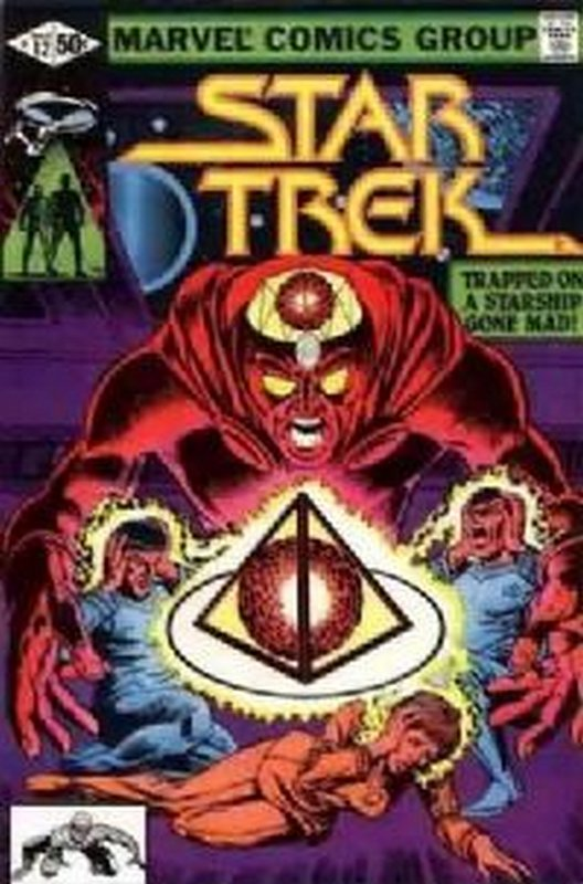Cover of Star Trek (Marvel 1980-82) #12. One of 250,000 Vintage American Comics on sale from Krypton!