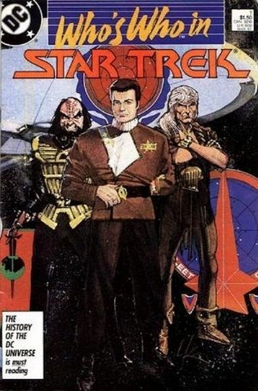 Cover of Star Trek, Whos Who in (1987 Ltd) #1. One of 250,000 Vintage American Comics on sale from Krypton!