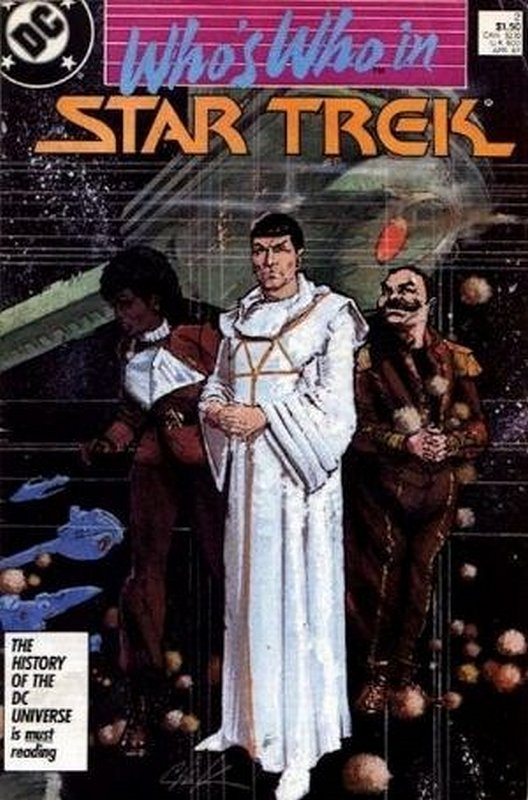 Cover of Star Trek, Whos Who in (1987 Ltd) #2. One of 250,000 Vintage American Comics on sale from Krypton!