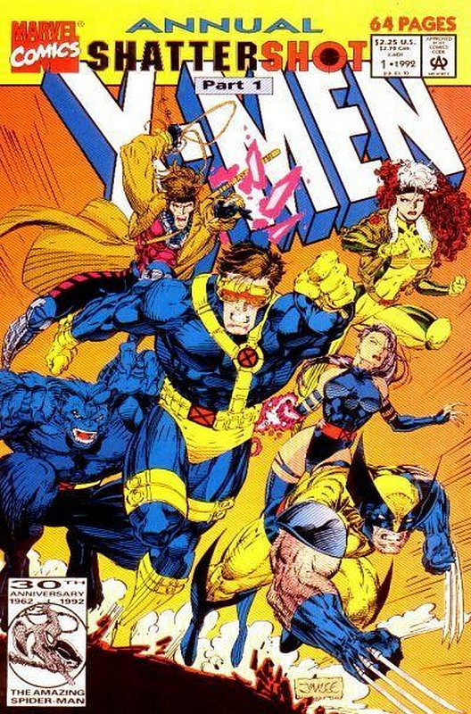Cover of X-Men Annual (Vol 1) #1. One of 250,000 Vintage American Comics on sale from Krypton!