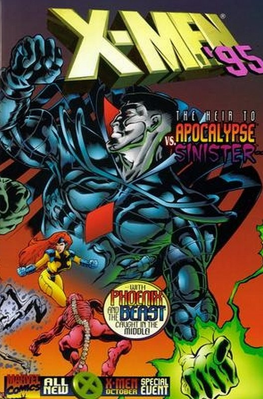 Cover of X-Men Annual (Vol 1) #1995. One of 250,000 Vintage American Comics on sale from Krypton!