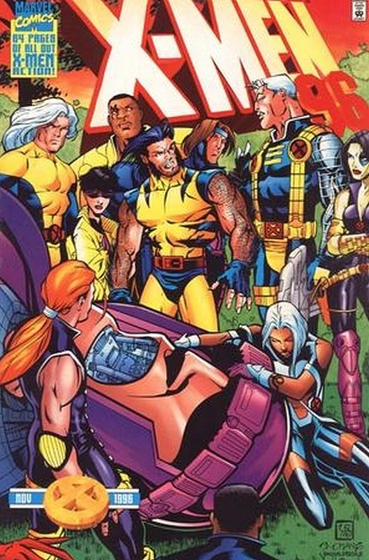 Cover of X-Men Annual (Vol 1) #1996. One of 250,000 Vintage American Comics on sale from Krypton!