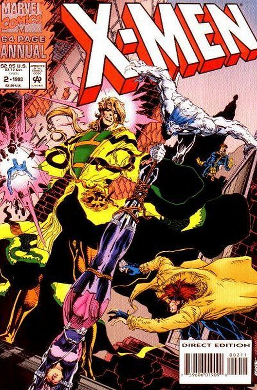 Cover of X-Men Annual (Vol 1) #2. One of 250,000 Vintage American Comics on sale from Krypton!