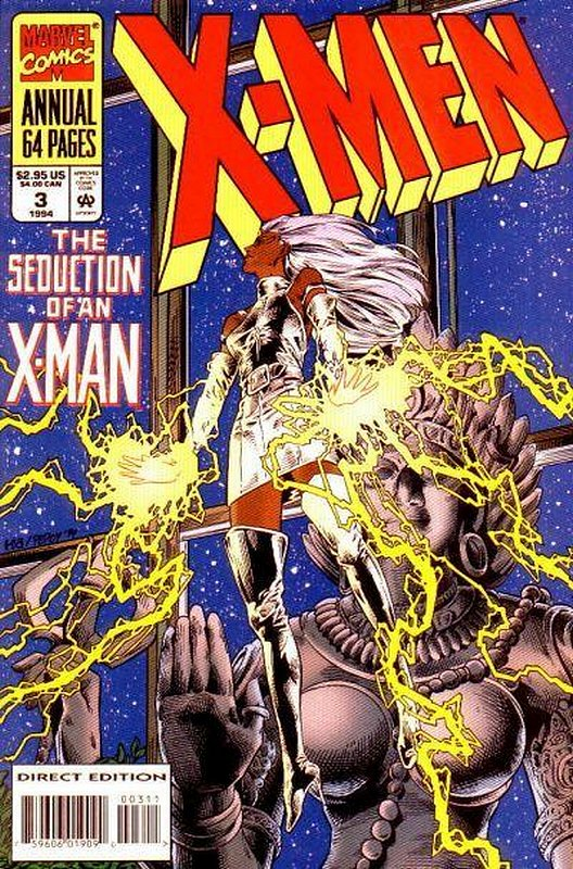 Cover of X-Men Annual (Vol 1) #3. One of 250,000 Vintage American Comics on sale from Krypton!
