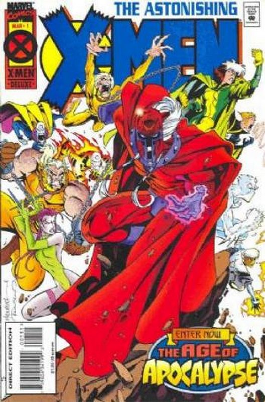Cover of Astonishing X-Men (1995 Ltd) #1. One of 250,000 Vintage American Comics on sale from Krypton!