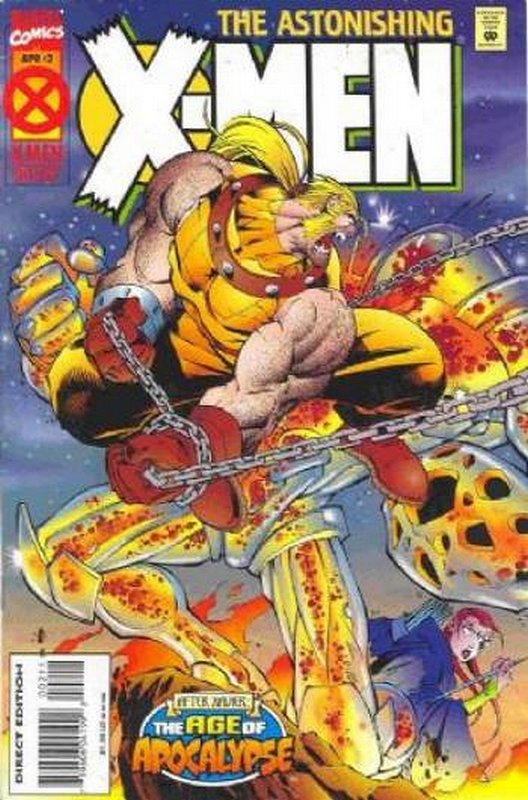 Cover of Astonishing X-Men (1995 Ltd) #2. One of 250,000 Vintage American Comics on sale from Krypton!