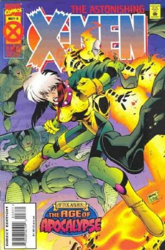 Cover of Astonishing X-Men (1995 Ltd) #3. One of 250,000 Vintage American Comics on sale from Krypton!