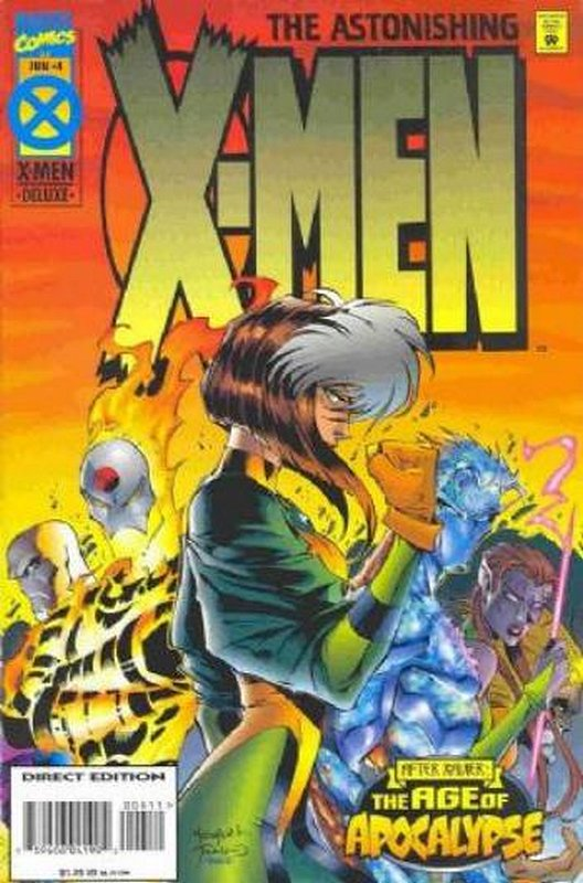 Cover of Astonishing X-Men (1995 Ltd) #4. One of 250,000 Vintage American Comics on sale from Krypton!