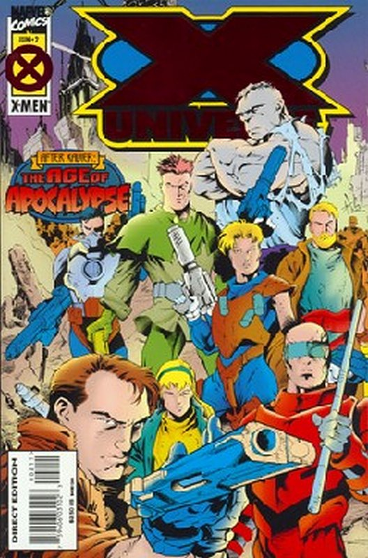 Cover of X-Universe (1995 Ltd) #2. One of 250,000 Vintage American Comics on sale from Krypton!