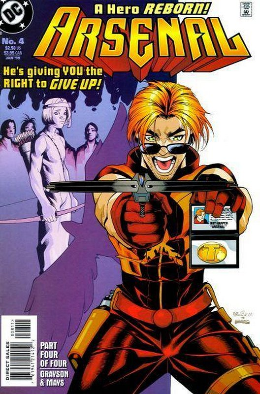 Cover of Arsenal (1998 Ltd) #4. One of 250,000 Vintage American Comics on sale from Krypton!