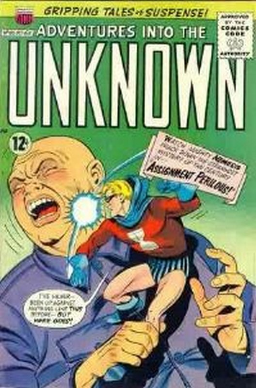 Cover of Adventures into the Unknown (Vol 1) #160. One of 250,000 Vintage American Comics on sale from Krypton!