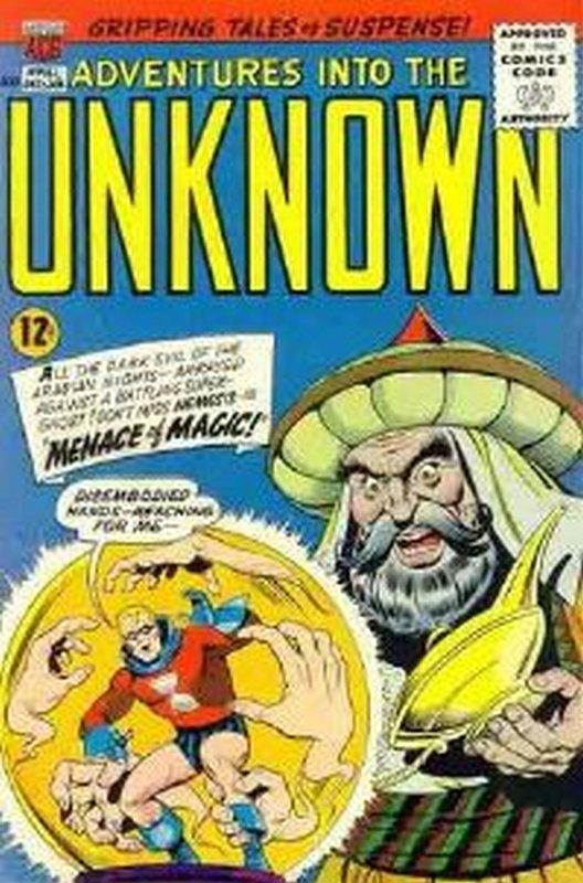 Cover of Adventures into the Unknown (Vol 1) #161. One of 250,000 Vintage American Comics on sale from Krypton!
