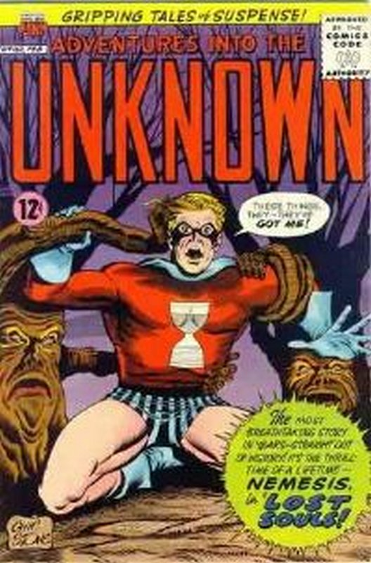 Cover of Adventures into the Unknown (Vol 1) #162. One of 250,000 Vintage American Comics on sale from Krypton!